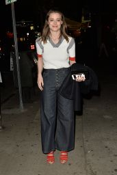 Gillian Jacobs Night Out Style - at El Compadre in Los Angeles 4/6/2016