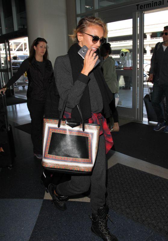 Giuliana Rancic at LAX Airport in Los Angeles 4/4/2016