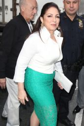 Gloria Estefan at The Today Show in New York City 4/25/2016
