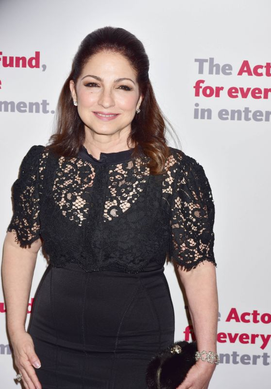 Gloria Estefan - The Actors Fund 2016 Gala in New York City