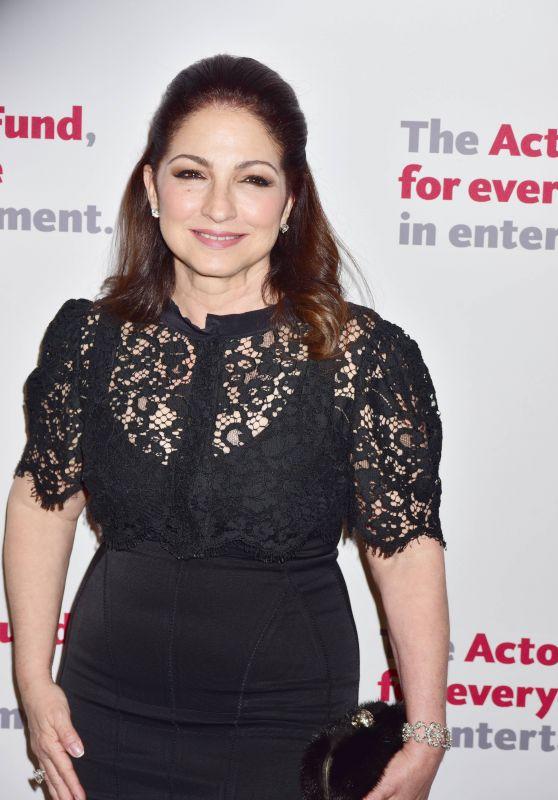 Gloria Estefan - The Actors Fund 2016 Gala in New York City