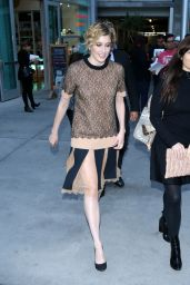 Greta Gerwig - Arrives For a Special Screening of