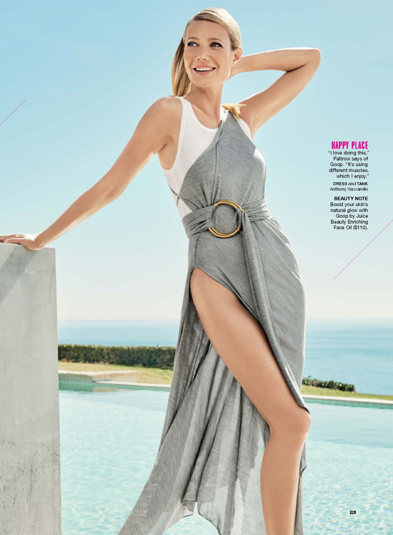 Gwyneth Paltrow – Self Magazine May 2016 Issue Gwyneth Paltrow