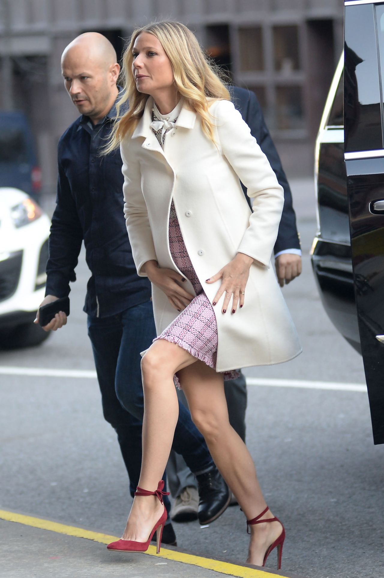 Gwyneth Paltrow Style – Visiting CBS This Morning in Manhattan, NY 4 ... Gwyneth Paltrow