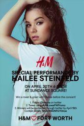 Hailee Steinfeld - H&M 2016