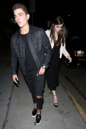 Hailee Steinfeld Night Out Style - Arriving at The Nice Guy in West Hollywood 4/28/2016