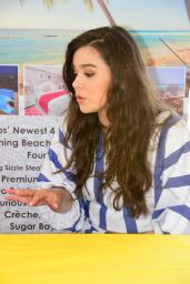 Hailee Steinfeld - Trying On a Skimpy Outfit in Barbados 4/14/2016