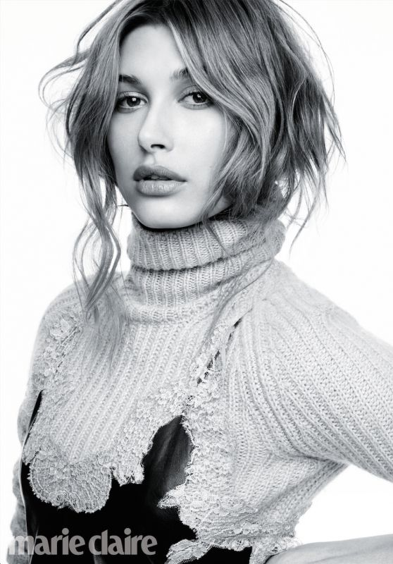 Hailey Baldwin – Marie Claire Magazine May 2016