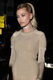 Hailey Baldwin Style Inspiration - The Nice Guy in West Hollywood 4/28/2016