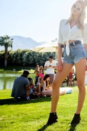 Hailey Clauson – Coachella Music Festival in Indio, CA Day Two 4/16/2016