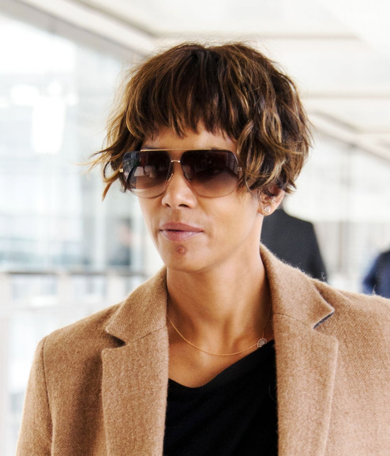Halle Berry Arrives At Heathrow Airport In London Uk 4