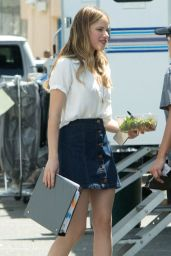 Halston Sage Style Inspiration - on the Set of