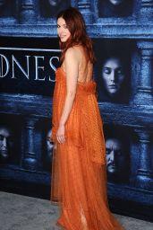 Hannah Murray – 'Game of Thrones' Season 6 Premiere in Los Angeles