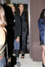 Heidi Klum - Attending an Art Gallery Showing at 6817 Melrose Ave in Los Angeles 4/21/2016