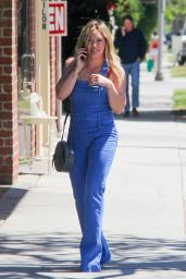 Hilary Duff Booty in Jeans - Out in Beverly Hills 4/5/2016