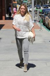 Hilary Duff Casual Style - Out in Beverly Hills 4/16/2016