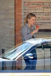 Hilary Duff in Jeans - Out in Los Angeles 4/14/2016