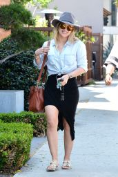 Hilary Duff - Out in West Hollywood 4/13/2016