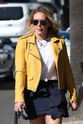 Hilary Duff Street Outfit - Beverly Hills 4/21/2016