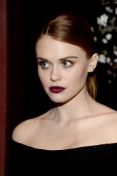 Holland Roden – alice + olivia Present See-Now-Buy-Now Runway Show at NeueHouse in Los Angeles, CA