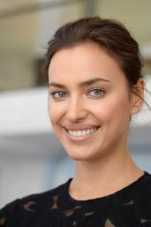 Irina Shayk - Advertises a Chewing Gum During a Press Call in Berlin 4/22/2016