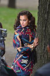 Irina Shayk - Photoshoot in New York 4/25/2016
