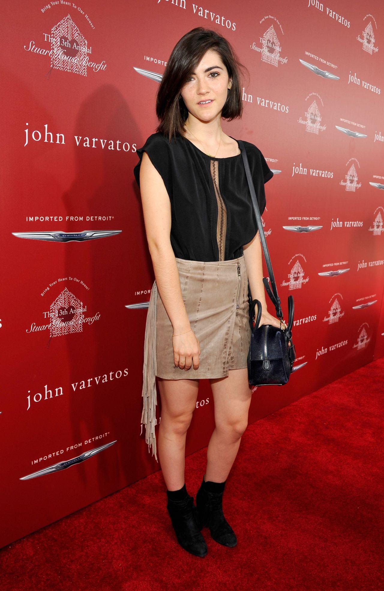 Isabelle Fuhrman - John Varvatos Stuart House Benefit in ...