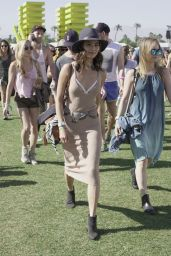 Jamie Chung at Coachella in Indio 4/15/2016