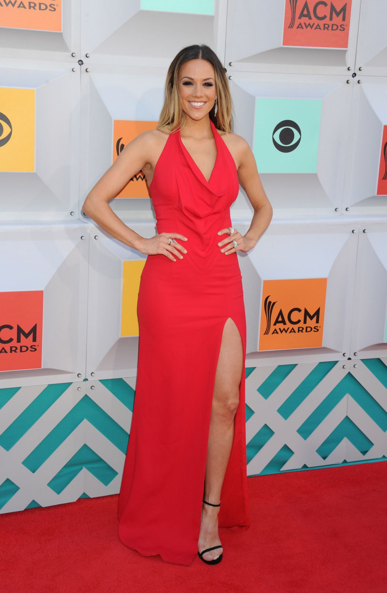 Jana Kramer Academy Of Country Music Awards 2016 In Las