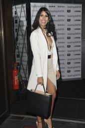 Jasmin Walia – Boohoo men's launch at London's Rah Rah Rooms 3/31/2016