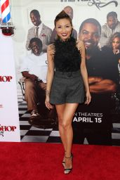 Jeannie Mai – BARBERSHOP: THE NEXT CUT Premiere in Hollywood