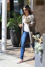 Jenna Dewan - Visiting a Nail Salon in Beverly Hills 4/11/2016