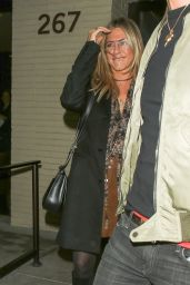 Jennifer Aniston - Enjoys a Romantic Date Night Out at The Palm Restaurant in Beverly Hills 4/10/2016