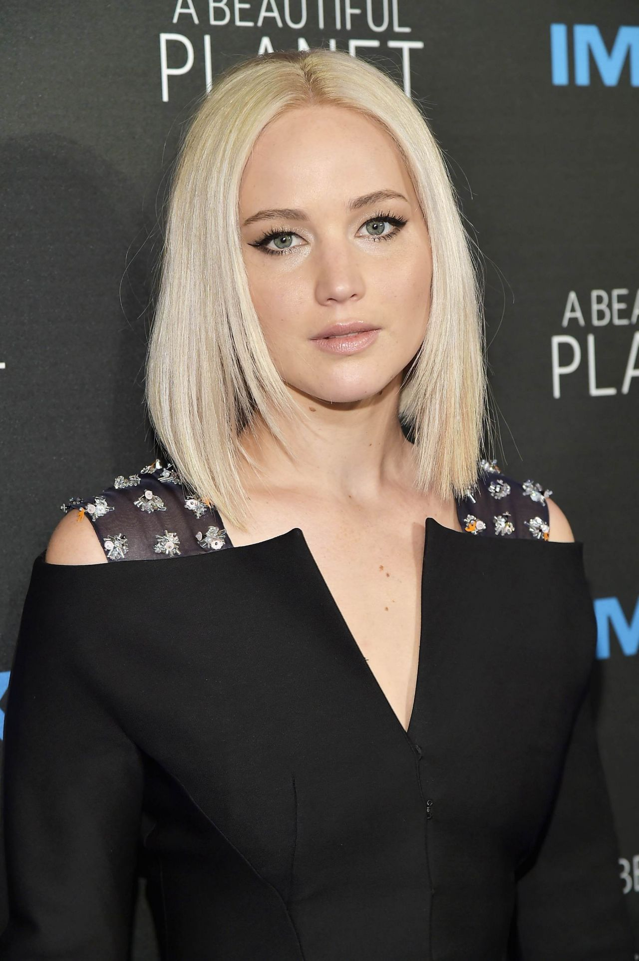 Jennifer Lawrence A Beautiful Planet Premiere In New York