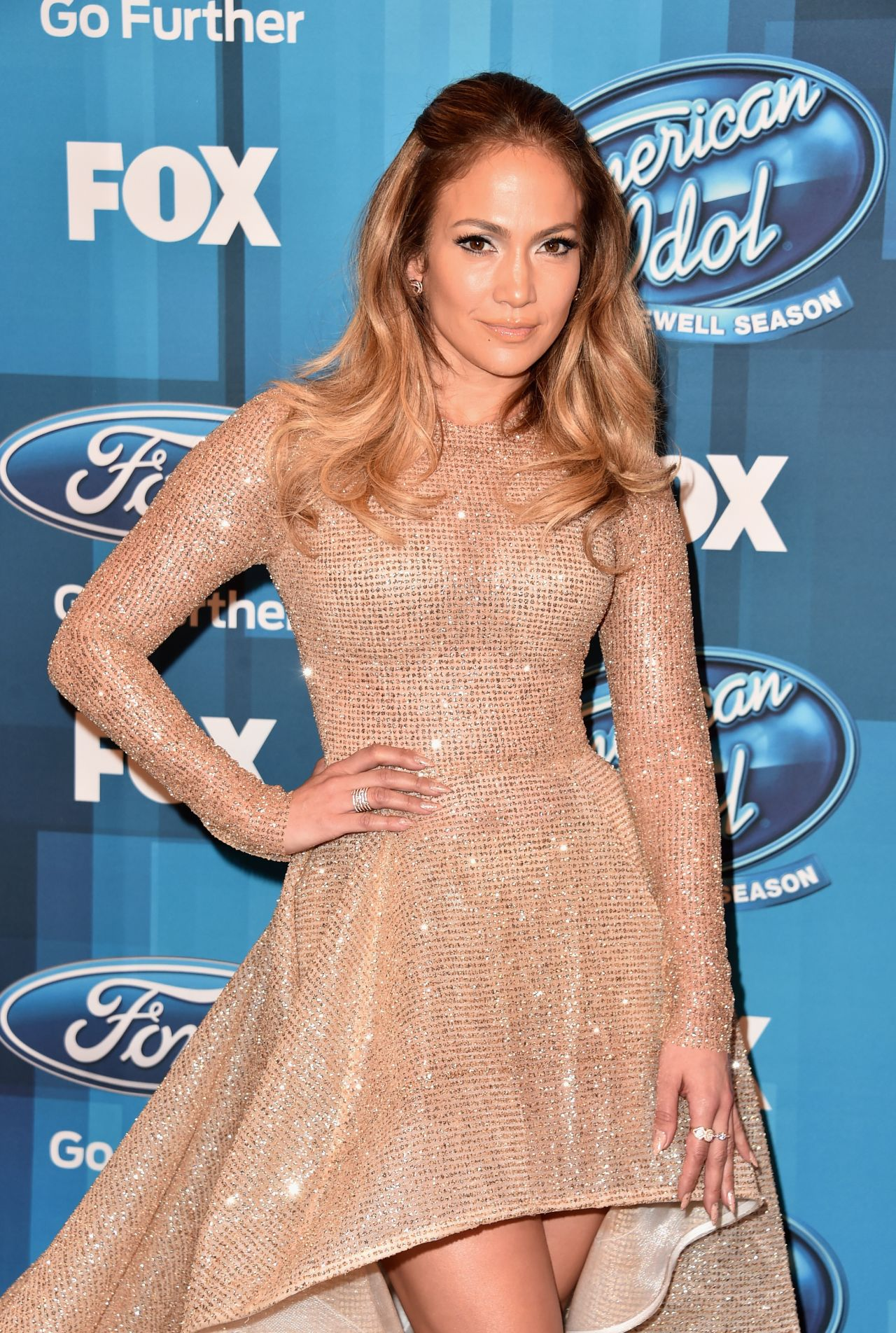 Jennifer Lopez - American Idol Finale For The Farewell ... Jennifer Lopez