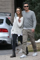 Jessica Alba and Cash Warren - Out in Aspen 4/9/2016