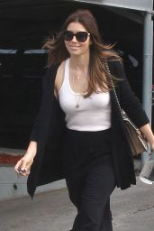 Jessica Biel - Out in Los Angeles 4/6/2016