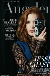 Jessica Chastain - Angeleno Magazine May 2016 Cover and Photos