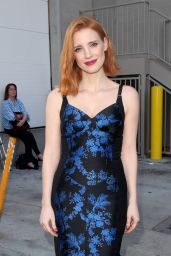 Jessica Chastain - Arrives at Jimmy Kimmel Live inHollywood, CA 4/20/2016