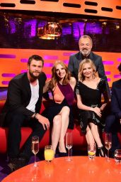 Jessica Chastain – Graham Norton Show in London, March 31 2016
