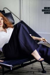 Jessica Chastain - Grazia Magazine Italia April 2016 Issue