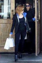 Jessica Chastain - Out in West Hollywood, April 2016