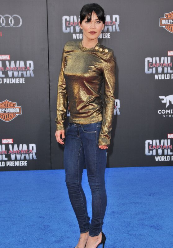 Jessica Szohr – Marvel's 'Captain America: Civil War' Premiere in Los Angeles
