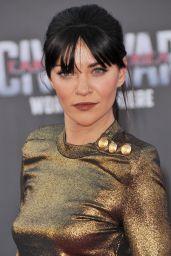 Jessica Szohr – Marvel's 'Captain America: Civil War' Premiere in Los Angeles