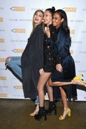 Joan Smalls – Stuart Weitzman Partnership Launch Eith Pencils of Promise in New York City 4/11/2016