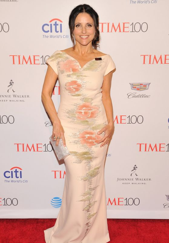 Julia Louis-Dreyfus - 2016 Time 100 Gala in New York City