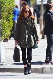 Julianne Moore - Out in Tribeca 4/15/2016