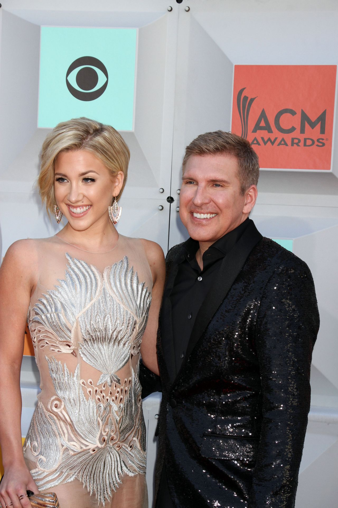 Julie Chrisley Academy Of Country Music Awards 2016 In Las Vegas