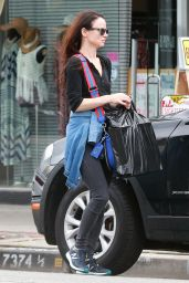 Juliette Lewis - Goes Shopping in West Hollywood 4/10/2016