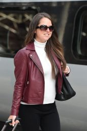 Karen Danczuk - Catching a Train Out of Town at Manchester
